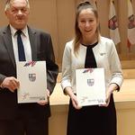Wręczenie dorocznych nagród dla najlepszych sportowców woj. świętokrzyskiego przez Urząd Marszałkowski Kielce 2018 r.