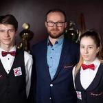 Dominika z Samborem w towarzystwie głównego sponsora Pana Andrzeja Gibasa.