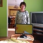 Zestaw komputerowy u beneficjetki